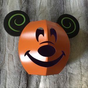 Disney Parks Mickey Metal Jack O'Lantern Luminary